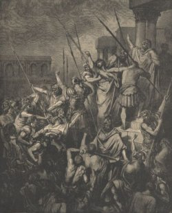 Paul Menaced by the Jews by Gustave Dore mormon