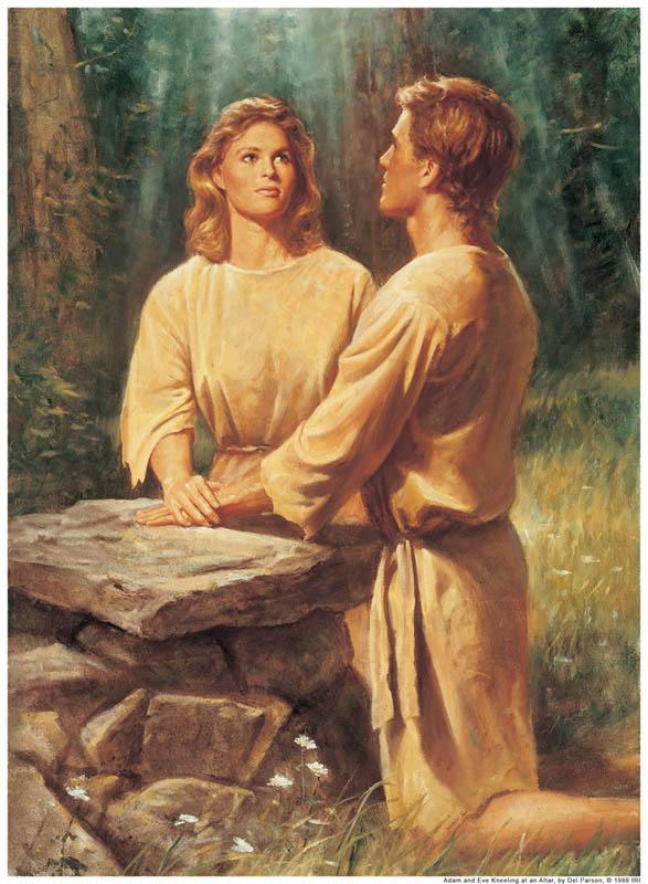 Adam Eve Altar Mormon