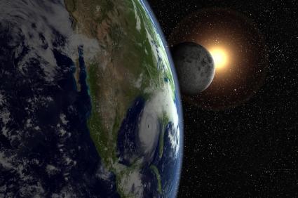 Earth Moon and Sun, Creation Mormon