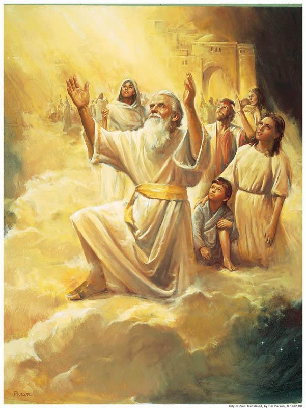 Enoch Zion Mormon