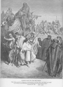 Joseph is Sold by his Brothers by Gustav Dore