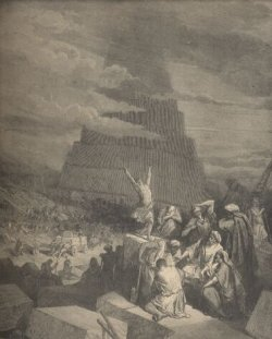 Tower of Babel by Gustav Dore