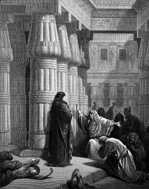Pharaoh by Gustave Dore