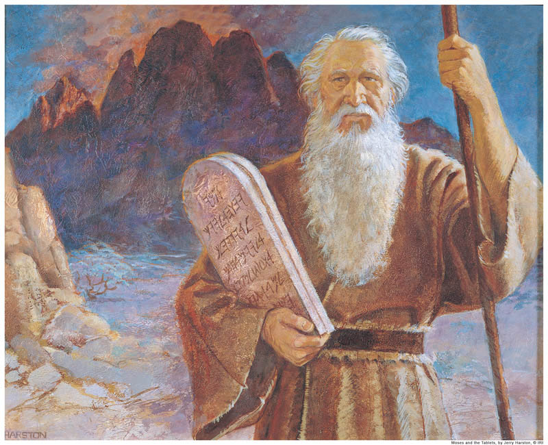 Ten Commandments Mormon Moses