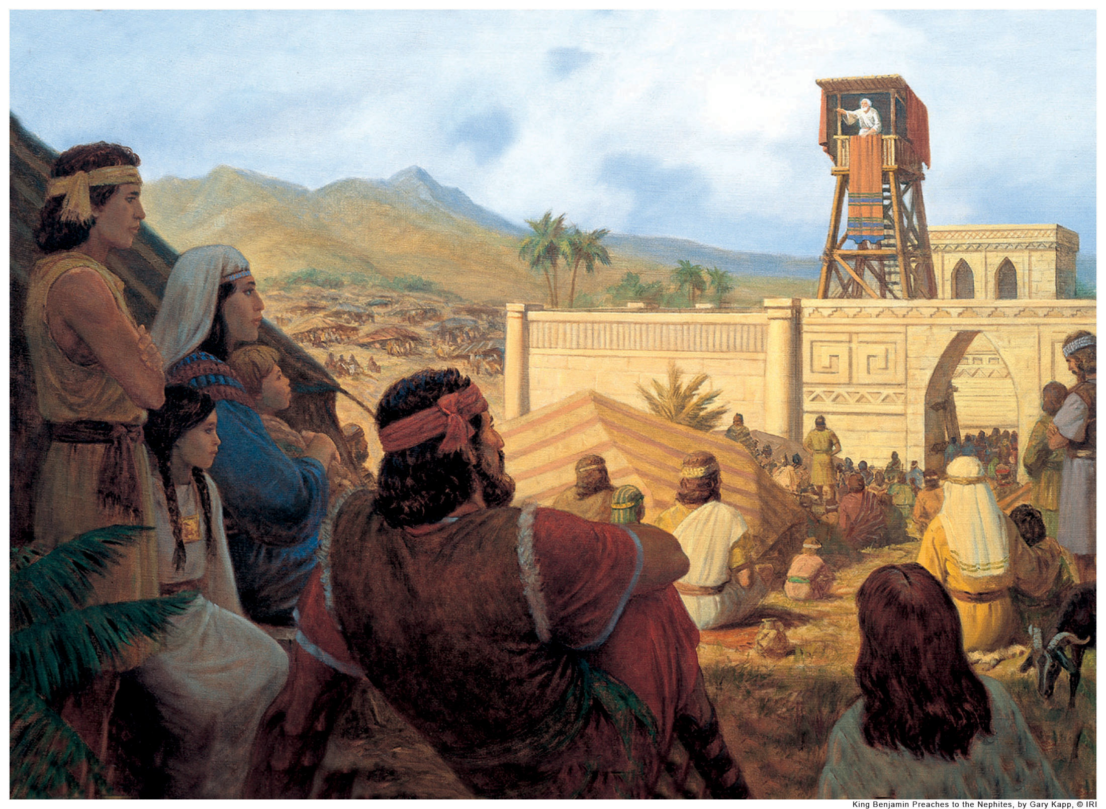 King Benjamin Mormon