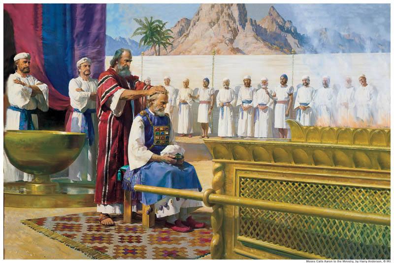 Moses Aaron Priesthood Mormon