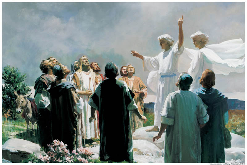 Ascension Resurrection Jesus Mormon