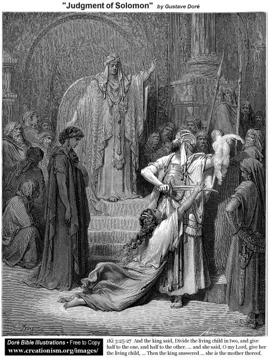 Mormon The Judgment of Solomon