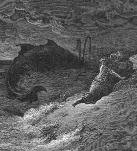 Jonah and the Whale by Gustave Dore mormon
