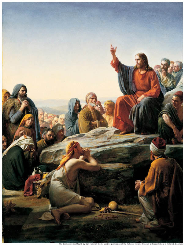Sermon on the Mount Jesus Christ Mormon