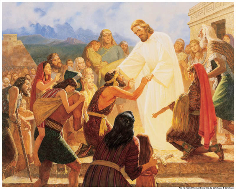 Jesus Christ Children Mormon