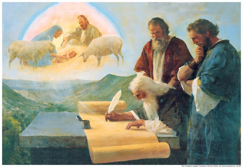 Isaiah prophesied of Christ mormon