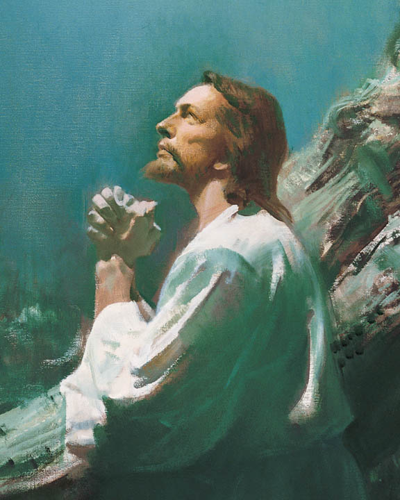 Jesus Christ Mormonism Jesus Praying In Gethsemane Lds