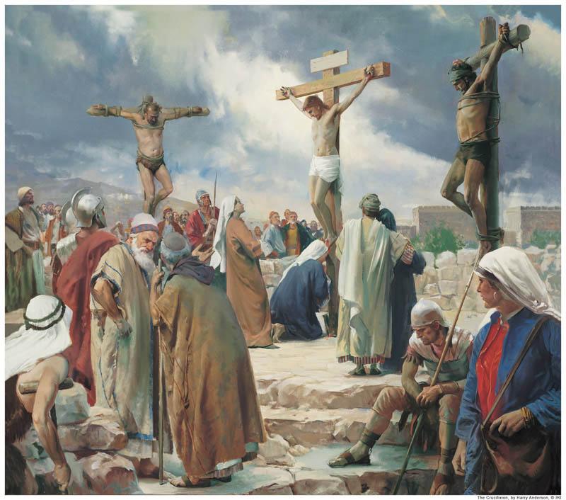 Jesus Christ crucifixion Mormonism