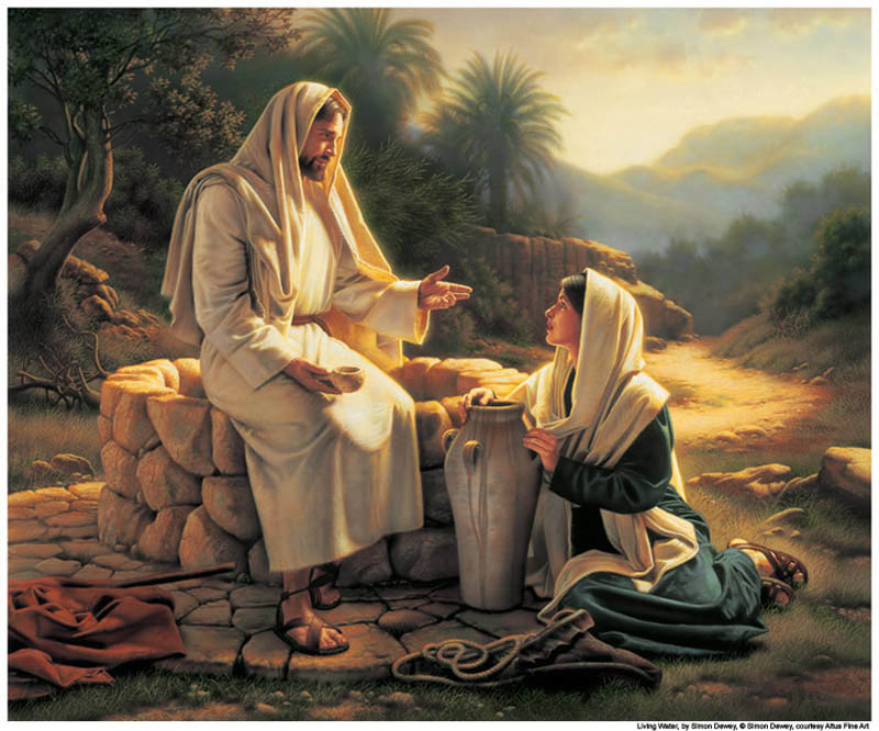 Jesus Christ treated Samaritans with respect Mormon