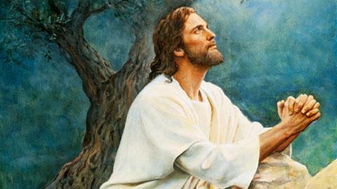 Jesus Christ in Gethsemane Mormon