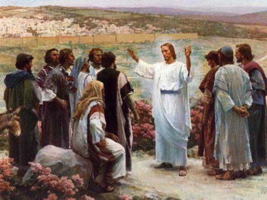 Christ teaches disiples Mormon