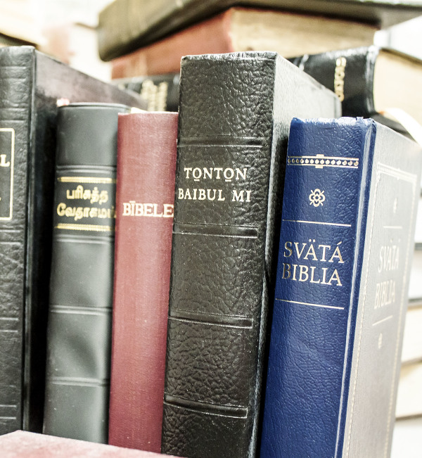 Recommended Bible Translations in Non-English Languages